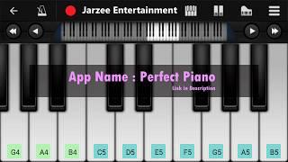 Swag Se Swagat (Tiger Zinda Hai), Salman Khan - Mobile Perfect Piano Tutorial