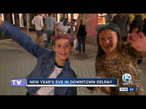 Delray Beach Residents Enjoy A Raucous New Year Celebration