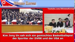Kim Jong Un trifft Dennis Rodman   deutschsprachiges Radio aus Nordkorea Stimme Koreas