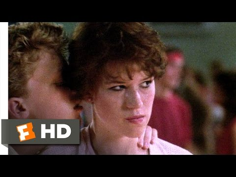 Sixteen Candles 610 Movie   The Geek Dances 1984 HD
