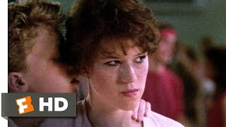 Sixteen Candles (6/10) Movie CLIP - The Geek Dances (1984) HD