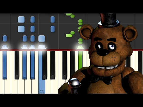 Five nights at freddy's / Piano Tutorial / Notas Musicales