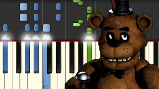 Five nights at freddy's / Piano Tutorial / Synthesia / Notas Musicales