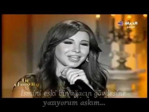 Nancy Ajram  Bektob Esmak Ya Habibi Türkçe Altyazılı Tıurkish Sub.