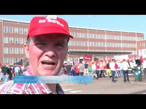 NieuwsGespotSportAZTV Radio AgendaSpecials NH Peilt Werknemers Tata Steel demonstreren