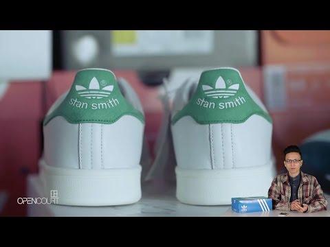 Mở hộp on feet giày Adidas Stan Smith : đôi sneaker phải có trong tủ giày