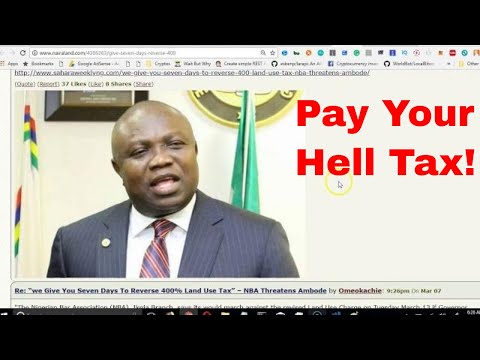 Lawyer attacks lagos state Governor over Land Use Tax