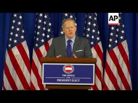 Spicer Defends No Hispanics in Trump Cabinet