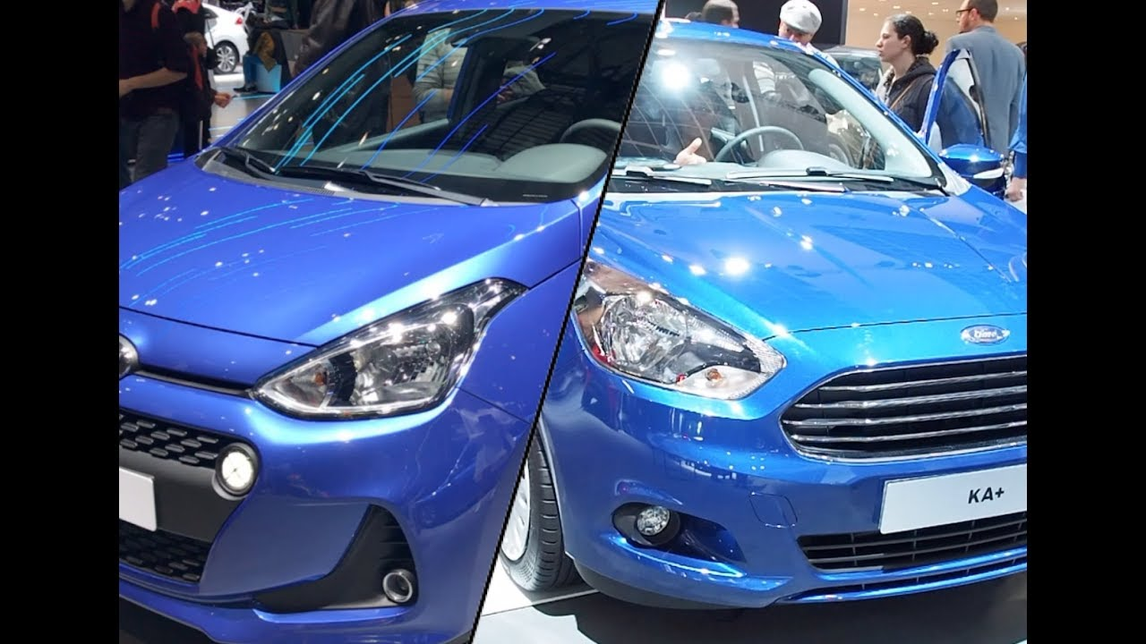 Ford Ka Vs Hyundai I