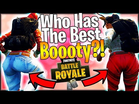 FORTNITE SKINS ARE THICK! | Who Is The Thickest In Fortnite Battle Royale?