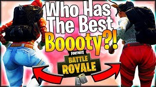 FORTNITE SKINS ARE THICK!   Who Is The Thickest In Fortnite Battle Royale?