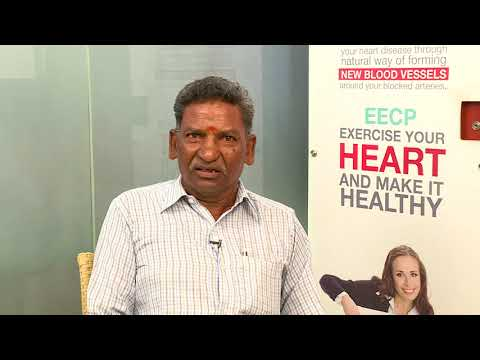 non surgical eecp treatment patient testimonial mr kesavalu healyourheart eecp treatment