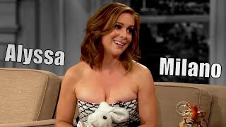 Alyssa Milano - Made A Sex Tape In Her 20s - 2/2 Appearances In Chron. Order [1080]