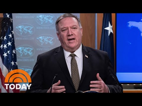China Calls Mike Pompeo 'Evil' For Suggesting Coronavirus Originated In Wuhan Lab | TODAY