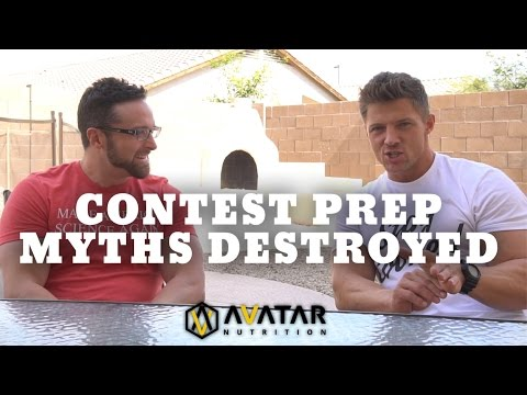 Contest Prep Myths DESTROYED with Layne Norton and Steve Cook