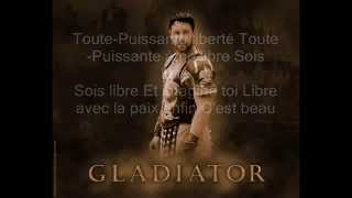 Gladiator   Now We Are Free  Traduite en français