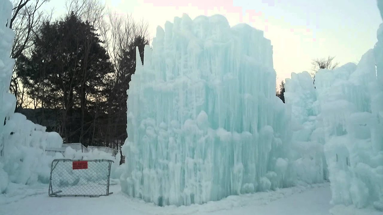 Ice Castles In Lincoln Nh Walkthrough Youtube
