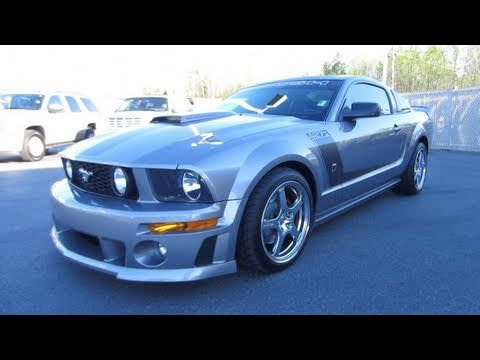 2007 ford mustang roush 427r start up exhaust and in. Black Bedroom Furniture Sets. Home Design Ideas