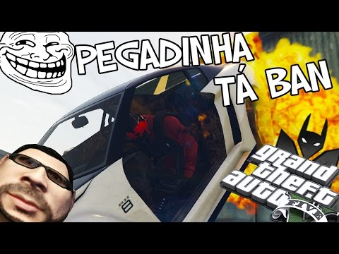 GTA V PEGADINHA - DO VOU TE BANIR DO COMANDO!