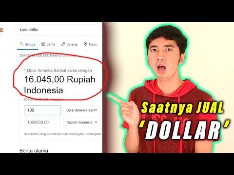 WOOW❗️❗️ Kurs DOLLAR Hari Ini TEMBUS RP 16.000 = 1 DOLLAR , Jumat 20 Maret 2020