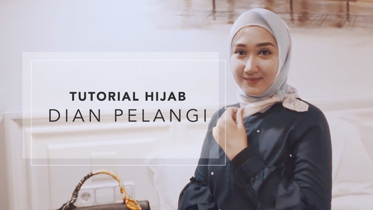 tutorial hijab dian pelangi - youtube