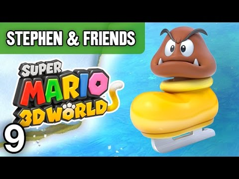 "Super Mario 3D World #9 - ""THESE ARE MY BARRY COINS"""