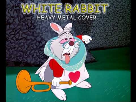 WHITE RABBIT COVER HEAVY METAL STYLE