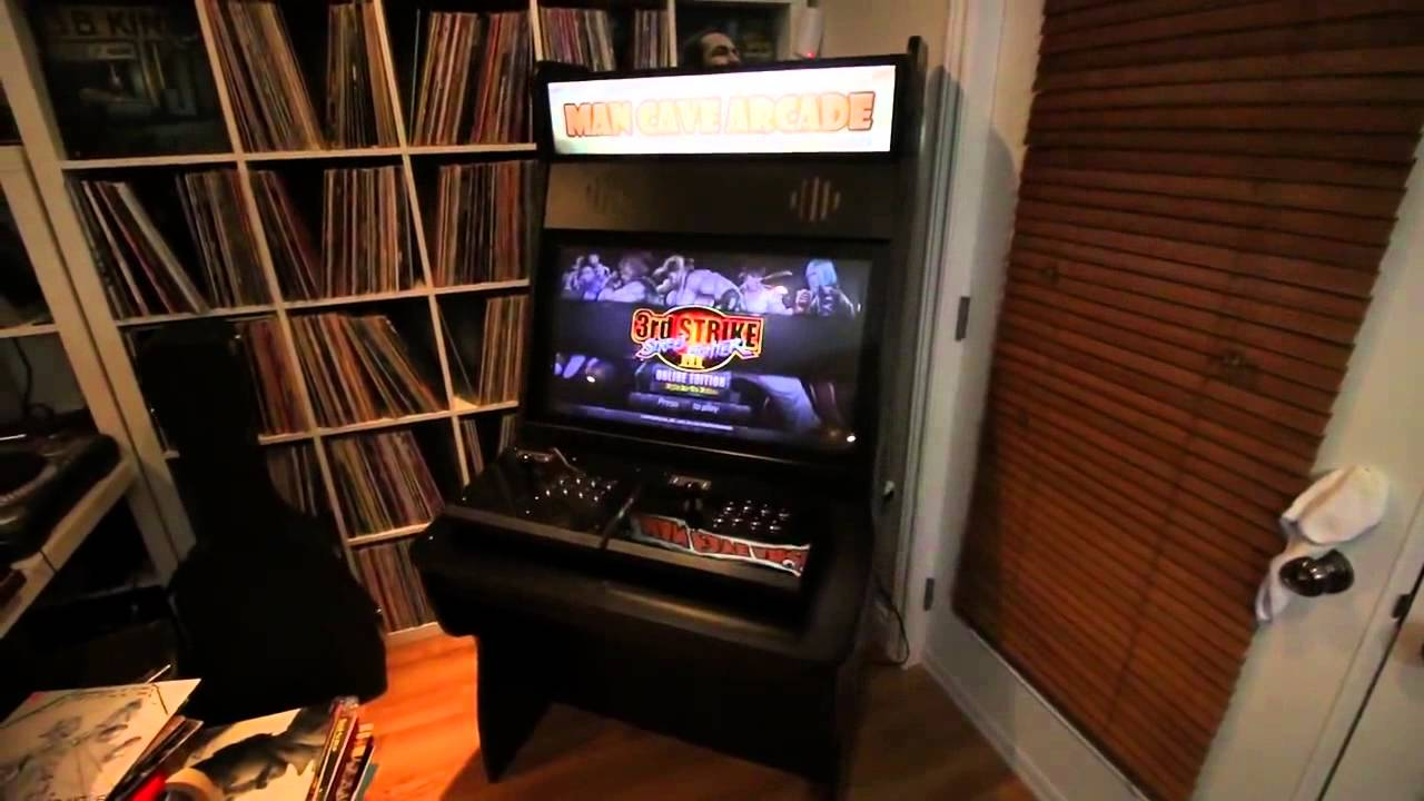 New Custom Arcade Machine From Man Cave
