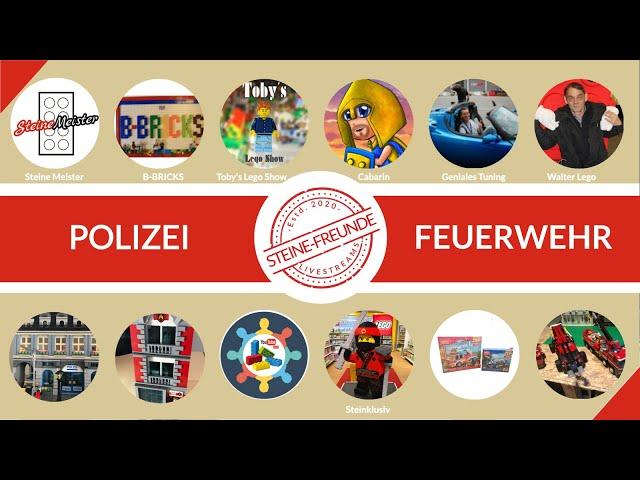 Polizei und Feuerwehr Spezial (MOCs, Lego und Alternative). Alles was dein Herz begehrt.