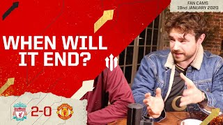 WHEN WILL IT END? | Liverpool 2-0 Manchester United | Laurence - The Kick Off