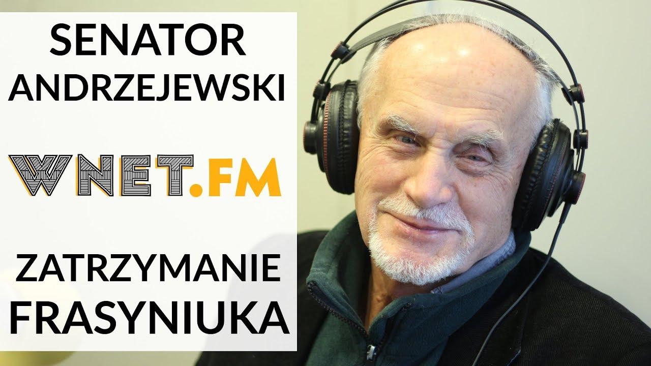 Andrzejewski o zatrzymaniu Frasyniuka: Ktoś uznał, że nie musi przestrzegać przepisów drogowych