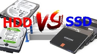 SSD VS HDD Read And Write Speed Compare