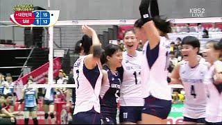 2016 리우올림픽 여자배구 세계예선 대한민국 vs 일본(16.05.17)