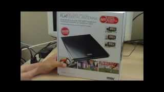 Terk FDTV2A HDTV Indoor Antenna Unboxing, Setup, Test - Part 1