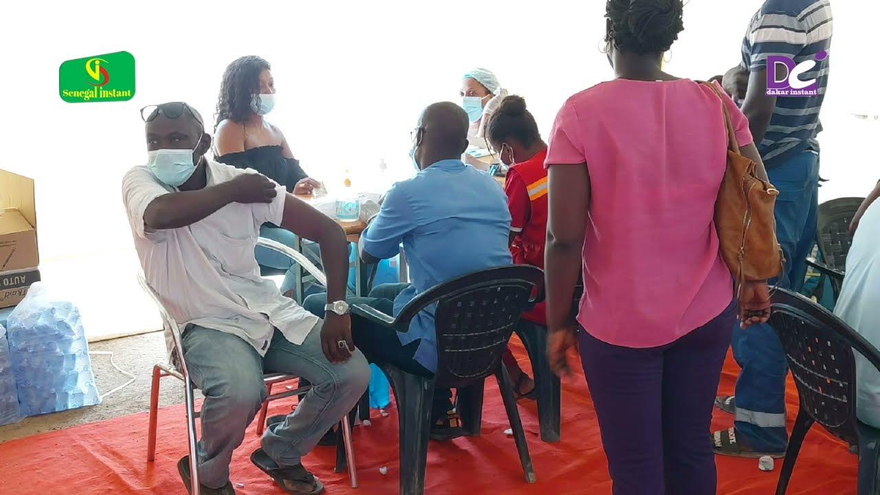 Vaccin Johnson & Johnson au Stade Leopold Sédar : les sénégalais done leur avis