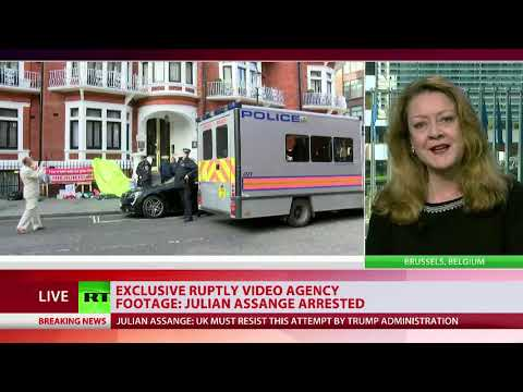 Former MI5 Agent on Assange's arrest