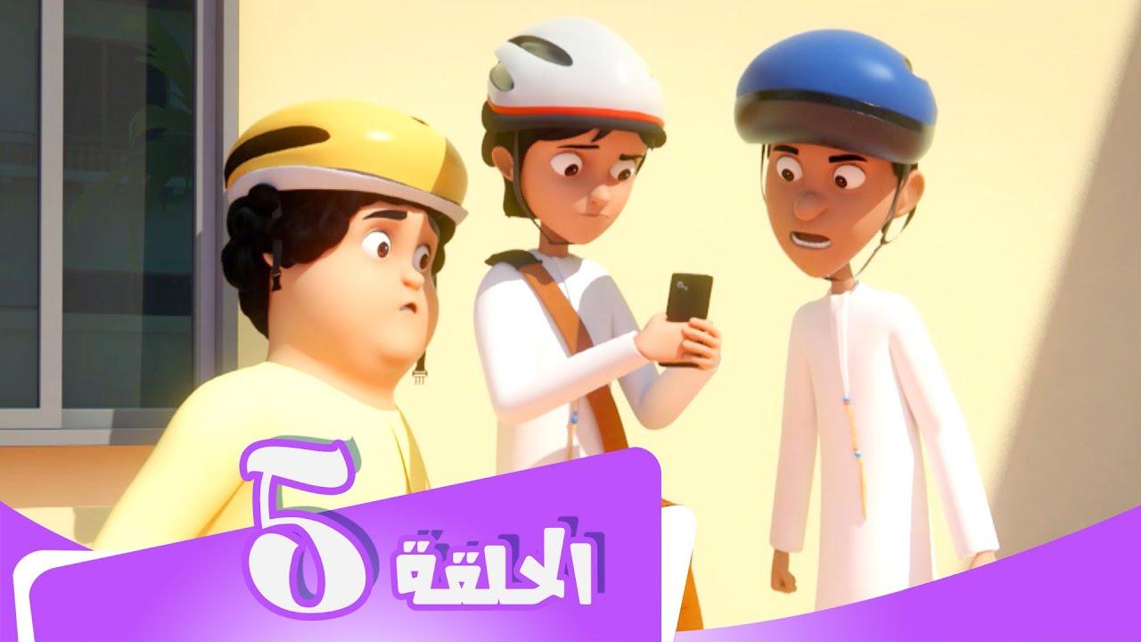 S5 E05 مسلسل منصور | ھجوم الطائرة | Mansour Cartoon | Attack Of The Drone