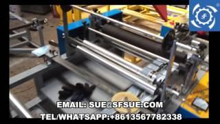 Shunfeng Brand FD model plastic film folding machine