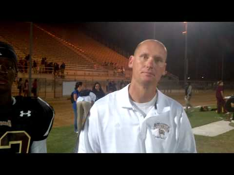 Bellflower Post Game - Derek Brown, Swain Williams
