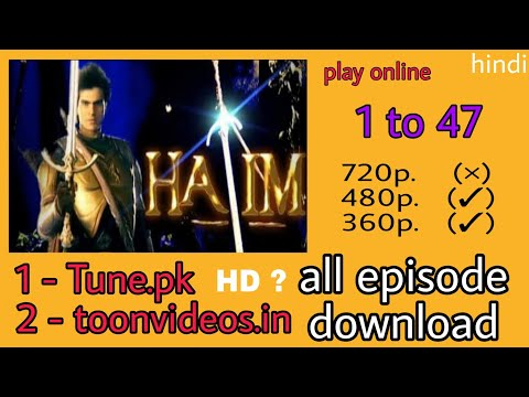 HATIM (star plus) ke all episode download kare/how to download hatim star plus 2004 thumbnail