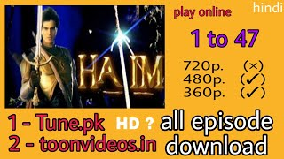 Download How To Download Hatim Star Plus 2003 - 2004