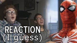 Xavier and Friends React to Spider-Man (PS4) E3 Gameplay