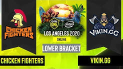 Dota2 - Chicken Fighters vs. Vikin.gg - Game 3 - Lower Bracket R3 - EU/CIS - ESL One Los Angeles