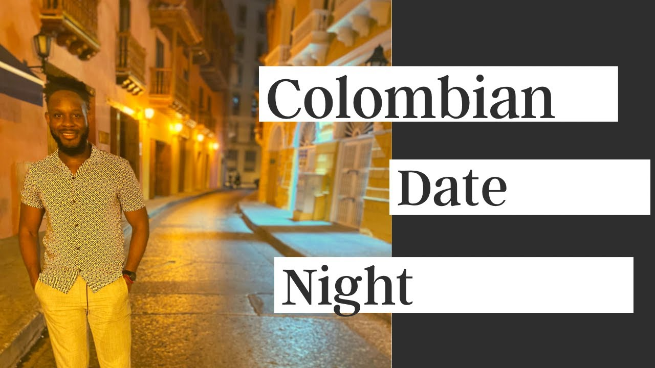 An American Tinder Date in Cartagena Colombia - YouTube
