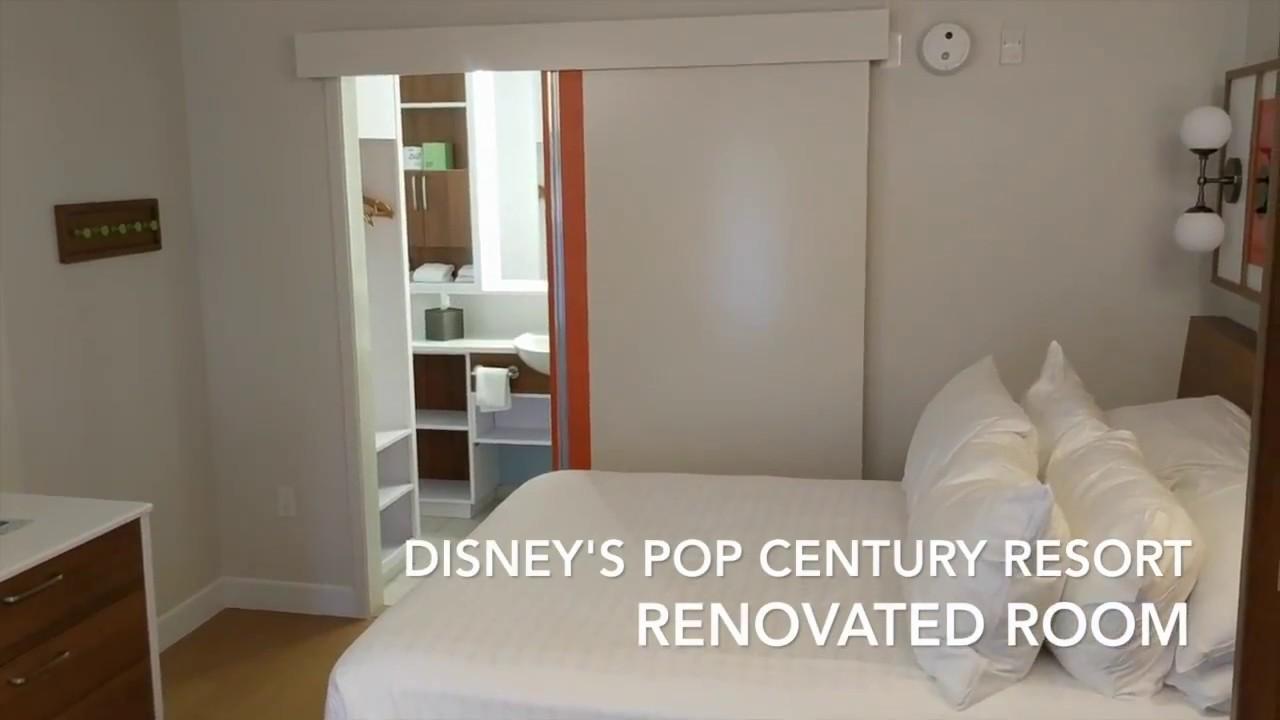 Disney S Pop Century Renovated Room A Very Nice Value Surprise