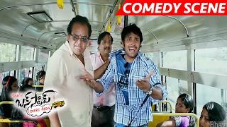 Sridivya's Father Warns Eve-Teasers - Sai Superb Comedy Scene - Bus Stop Movie Scenes