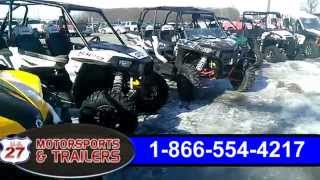 Used Polaris RZR-Can am Maverick UTV
