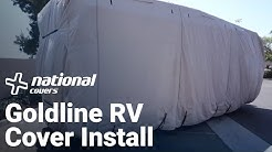 RV Cover Installation - Goldline
