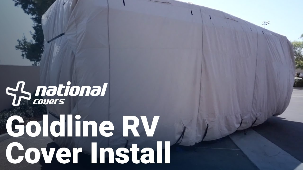 OOFIT Class C RV Cover Fits 23-26 Easy Installation Zipper Access Heavy Duty 4-Layer Fabric