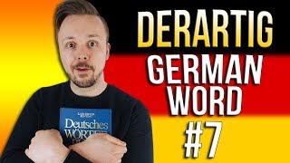 Learn German A.1 🇩🇪 Word Of The Day: derartig | Episode 07 | Get Germanized